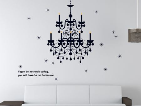 Wall Sticker Chandelier AS
