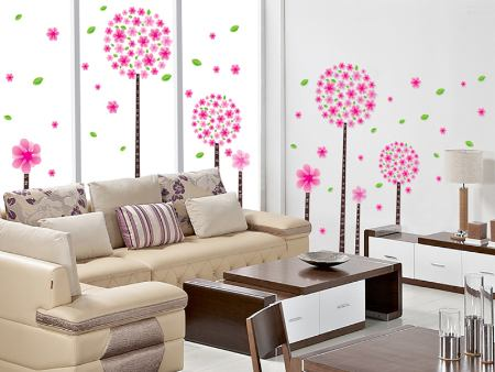 Wall Sticker Flower Power