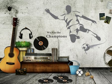 Wall Sticker The Kicker