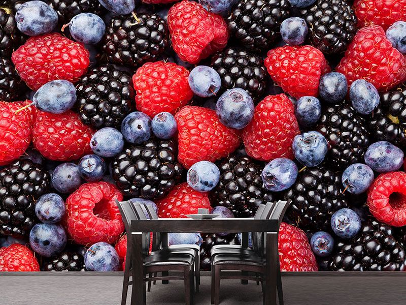 Photo Wallpaper Berries