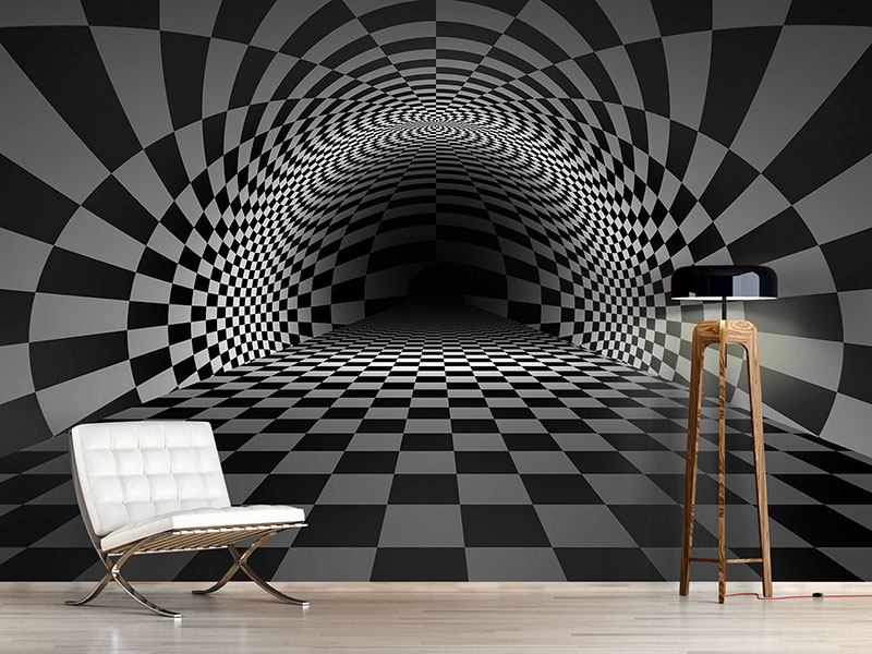 Photo Wallpaper Abstract Chessboard